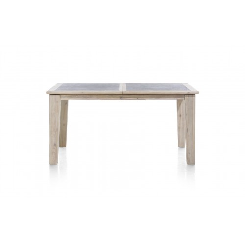 TABLE REPAS ALLONGE RAILWAY ACACIA 100 X (160/210) X 77 CM