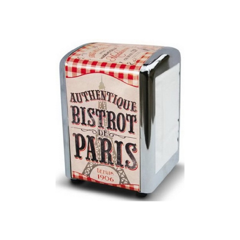 DISTRIBUTEUR SERVIETTES BISTROT DE PARIS
