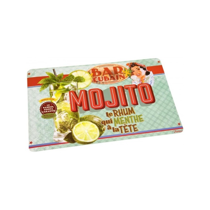 SET DE TABLE MOJITO