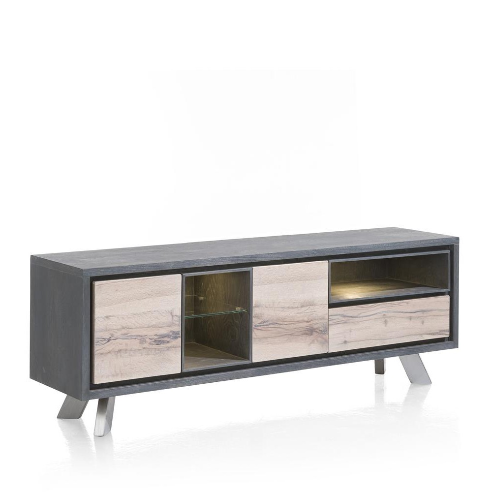 meuble tv de la collection lucco en ch ne. Black Bedroom Furniture Sets. Home Design Ideas