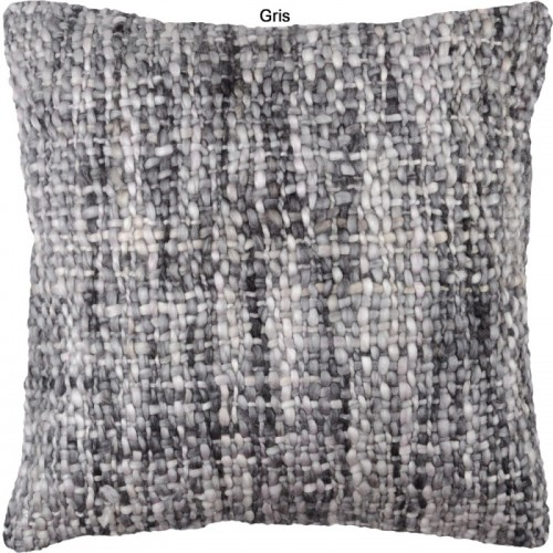 COUSSIN KARL GRIS 40 X 40 CM