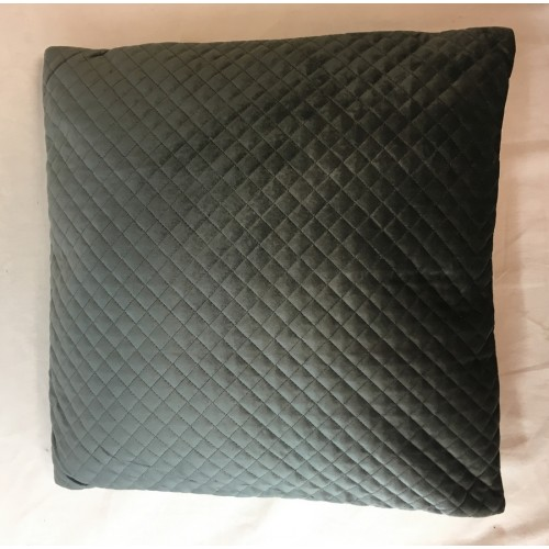 COUSSIN BARYTON 45 X 45 CM ANTHRACITE 100pourcent POLYESTER