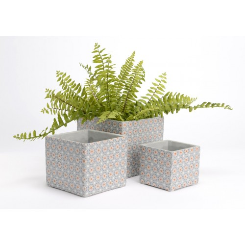 CACHE POT CIMENT CAROLINE PM 10 X 11 X 11 CM