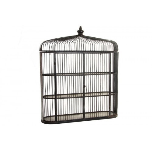 ETAGERE MURALE METAL 80 X 22.5 X 90 CAGE
