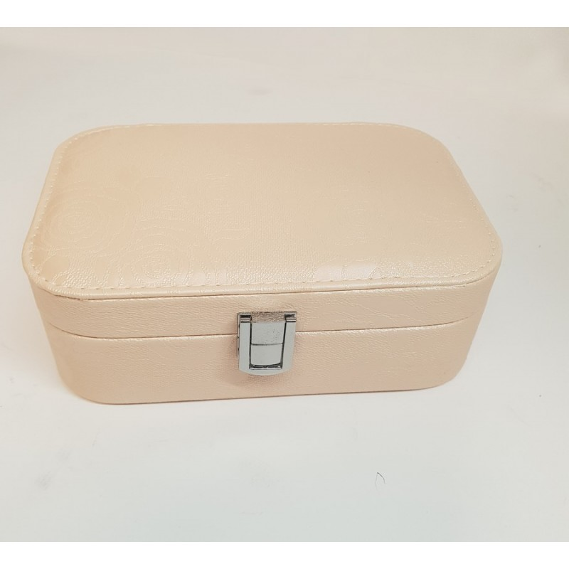 COFFRET BIJOUX RECTANGLE ELEA CHAMPAGNE