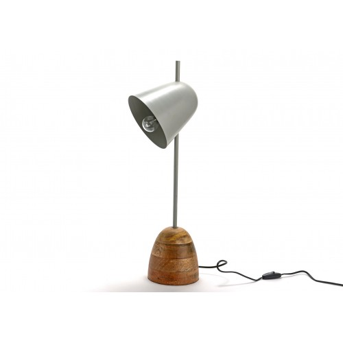 LAMPE DE TABLE PABLO GRISE