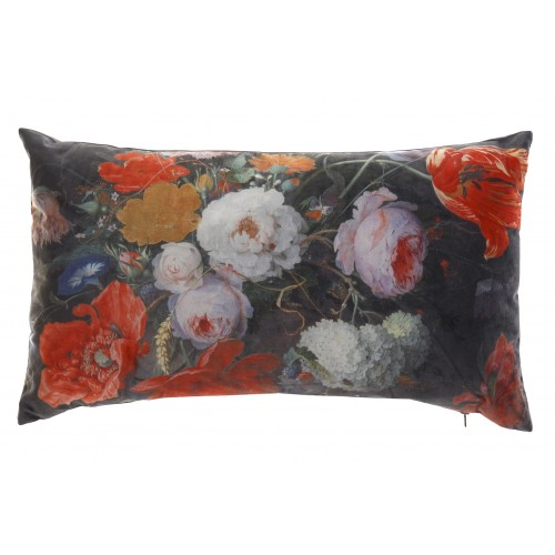 COUSSIN POLYESTER 30 X 50 cm HYPER FLORAL