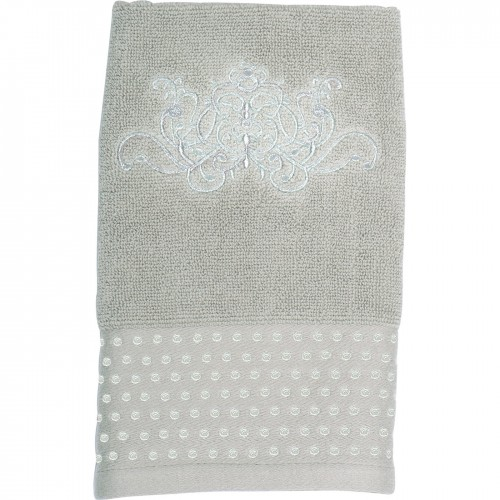 SERVIETTE D INVITE DOUCE ARABESQUE LIN 50 x 30 cm