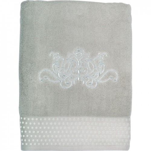 SERVIETTE DE BAIN DOUCE ARABESQUE LIN 70X140
