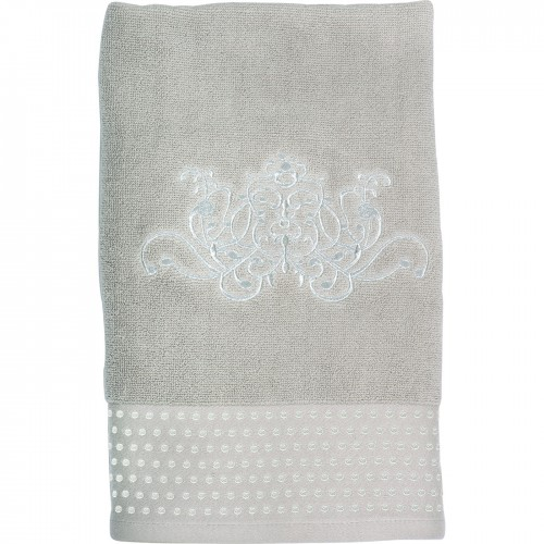 SERVIETTE DE TOILETTE DOUCE ARABESQUE LIN 50X100
